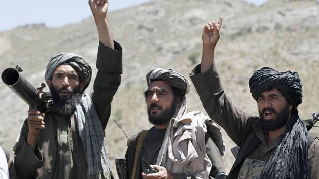 Bojovníci hnutí Tálibán