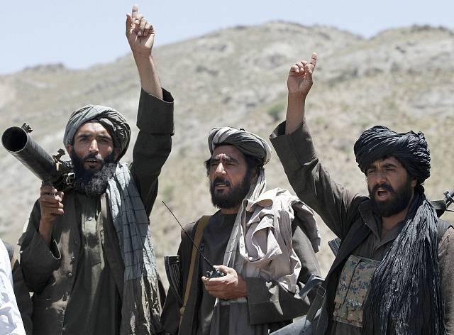 Bojovníci hnutí Tálibán. Ilustrační snímek