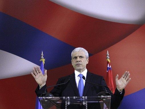 Srbský prezident Boris Tadić