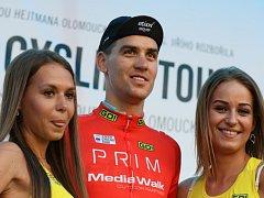 Zdeněk Štybar v pozici lídra na Czech Cycling Tour.