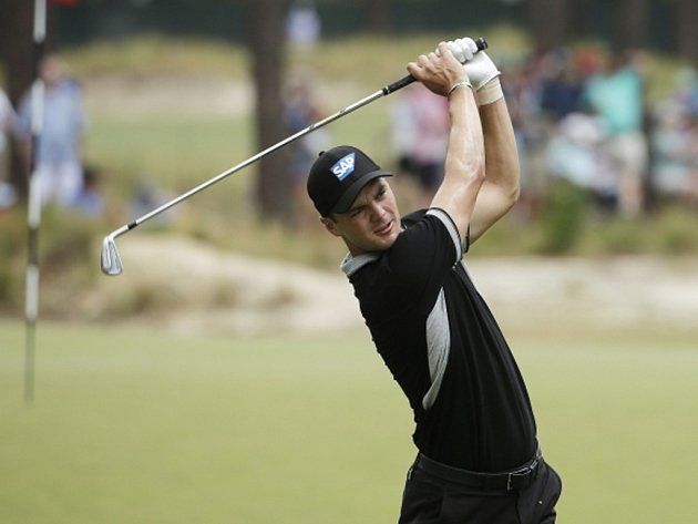 Golfista Martin Kaymer na US Open.