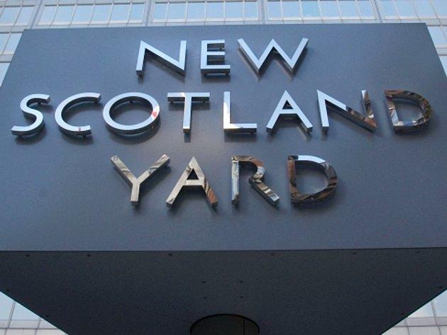 Londýnský Scotland Yard. Ilustrační foto.
