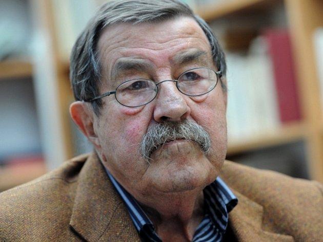 Německý spisovatel Günter Grass.