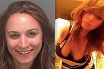 Hromadným sexem se pokusila na Floridě u městečka Pinellas County uplatit trojici policistů krásná 24letá brunetka Arielle Engertová, jejíž auto zastavili kvůli velmi nekoordinovanému způsobu jízdy.
