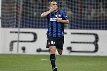 Wesley Sneijder z Interu Milán.
