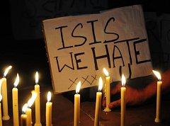 Protesty proti teroru Islámského státu
