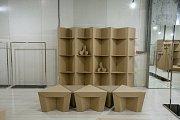 Kartonový nábytek