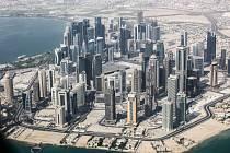 Katarské hlavní město Dauhá - Ilustrační foto