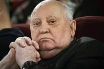 Bývalý sovětský prezident Michail Gorbačov
