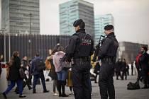 Zostřené bezpečnostní opatření u příležitosti mobilního veletrhu MWC v barcelonské aglomeraci