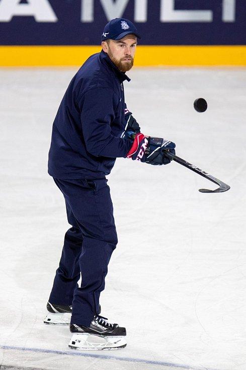 Trenér hokejové reprezentace Filip Pešán.