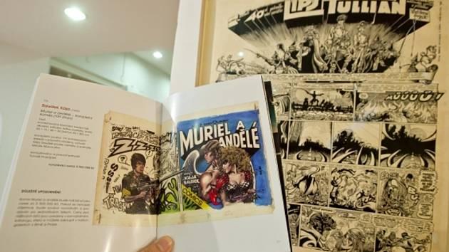 Pražská policie odložila prověřování trestního oznámení, které podala rodina kreslíře Káji Saudka v souvislosti s chystanou dražbou originálů kreseb komiksu Muriel a andělé.