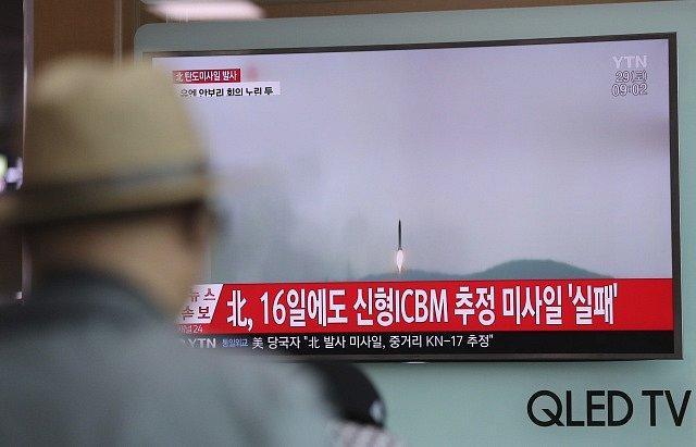 Severní Korea vypustila dnes ráno další raketu. Je to již devátý pokud od začátku roku.