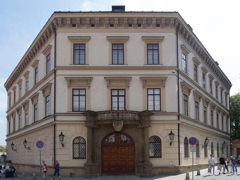 Lichtenštejnský palác na pražském ostrově Kampa