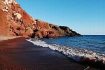 Záliv Akrotiri na Kypru