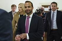 George Papadopoulos, bývalý poradce pro zahraniční politiku amerického prezidenta Donalda Trumpa (na snímku z 25. října 2018).