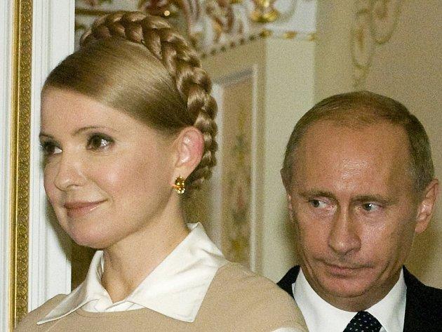 """Ukrajinské premiérce Juliji Tymošenkové se ve čtvrtek podařilo při jednání s ruským premiérem Vladimirem Putinem odvrátit to, co sama nazvala """"naprostým šokem"""" pro Ukrajinu."""