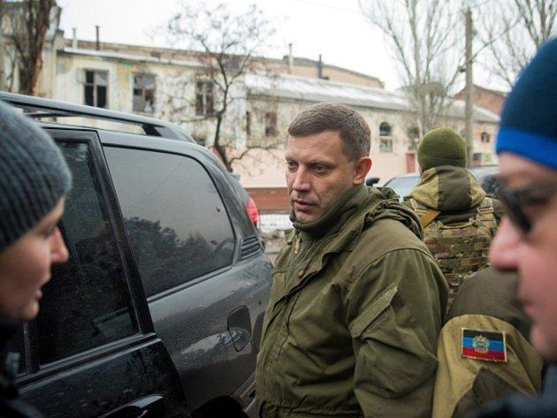 Vůdce vzbouřenců Alexandr Zacharčenko.