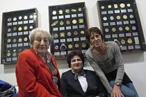 Výstavu zahájily tři legendy - (zleva) Dana Zátopková, Helena Fibingerová a Jarmila Kratochvílová