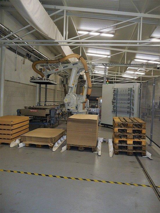 Výrobní závod Fruty v Kunovicích se díky prostředkům z fondů EU dočkal výrazné modernizace.