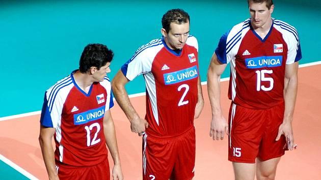 Jan Štokr (vpravo) s kolegy z reprezentace