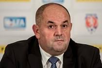 Bývalý předseda fotbalové asociace Miroslav Pelta