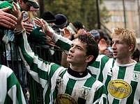 Bohemians 1905 jsou zpátky v první lize, velký dík patří fanouškům.