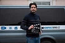 Jakub Slabák je produkční v patrně největší castingové agentuře na jižní Moravě Komparz Brno.