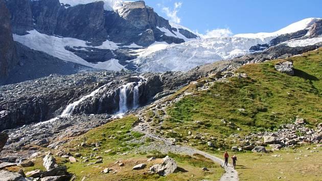 Walliské Alpy - z italské strany. Martin Bělánek, Bystřice pod Lopeníkem