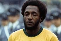 Brazilský fotbalista Paulo César na snímku z roku 1974.