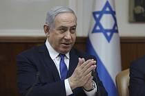 Izraelský premiér Benjamin Netanjahu na snímku z 29. prosince 2019