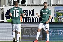Utkání 5. kola první fotbalové ligy: FK Jablonec - SFC Opava
