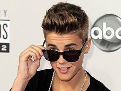 Popová hvězda Justin Bieber.