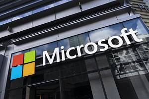 Logo americké softwarové společnosti Microsoft