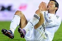 Největší hvězda nejbohatšího klubu Evropy Realu Madrid - portugalský útočník Cristiano Ronaldo.