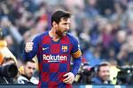 Lionel Messi z Barcelony