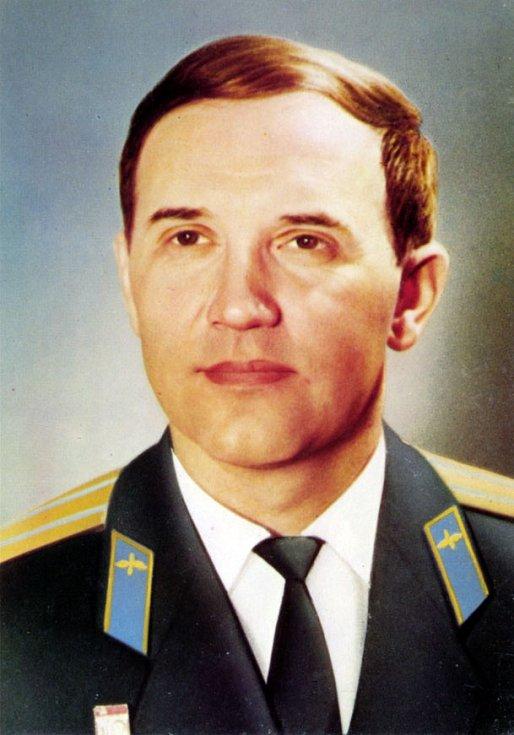 Velitel lodi Sojuz 11 Georgij Timofejevič Dobrovolskij