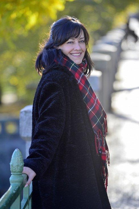 Česká herečka Tereza Brodská