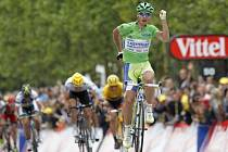 Slovák Peter Sagan opanoval třetí etapu Tour de France.