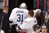 Mikko Koskinen se zranil v utkání s Ruskem.