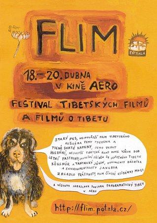 FLIM – Festival tibetských filmů a filmů oTibetu, plakát
