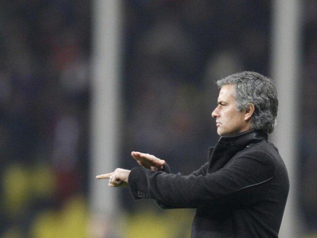 Kouč Interu Milán José Mourinho.
