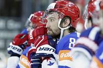Zklamaný Alexandr Ovečkin z Ruska.