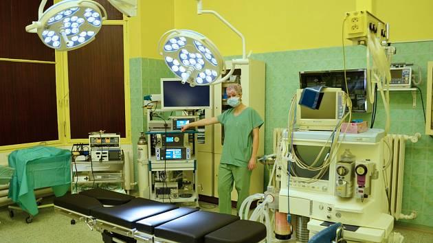 Foto: Archiv Jesenické nemocniceModerně vybavený operační sál v Jesenické nemocnici.