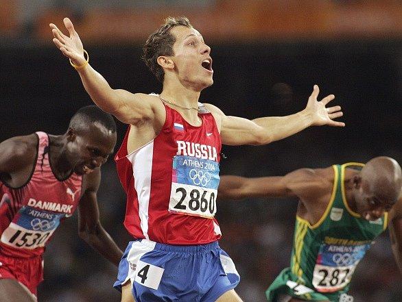 Jurij Borzakovskij a jeho triumf na olympiádě v Aténách