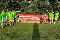 TJ Sokol Škvorec si díky projektu Gambrinus KOPEME ZA FOTBAL užívá mnoha odměn a zážitků. Ve VÝKOPNÉ byl klub vůbec nejlepším v celé České republice.