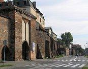 Městské hradby v Toruńi