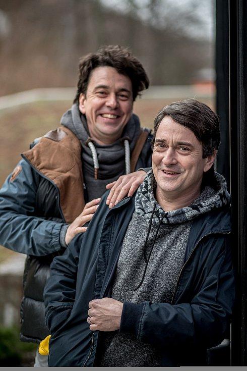 Saša a Václav Rašilovovi