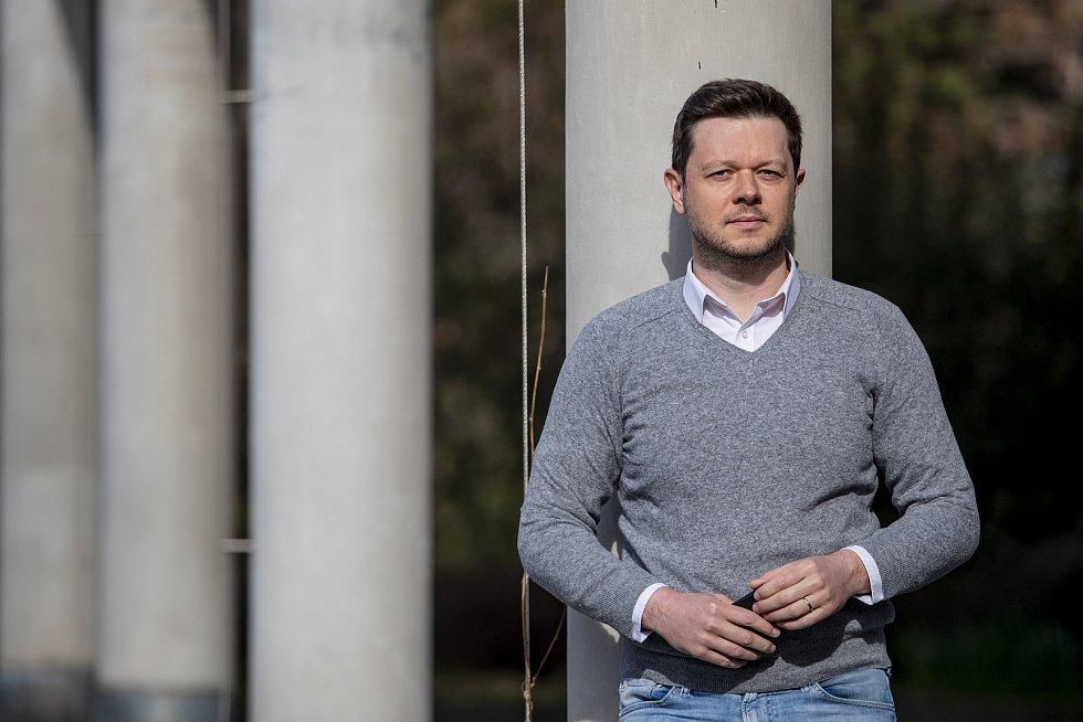 Šéfredaktor CNN Prima NEWS Pavel Štrunc poskytl 15. dubna v Praze rozhovor Deníku.
