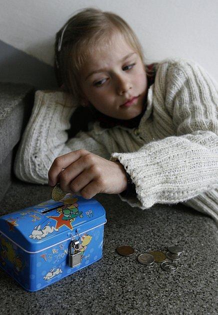 Pravidelnost je jednou z důležitých podmínek pro to, aby se dítě naučilo hospodařit.